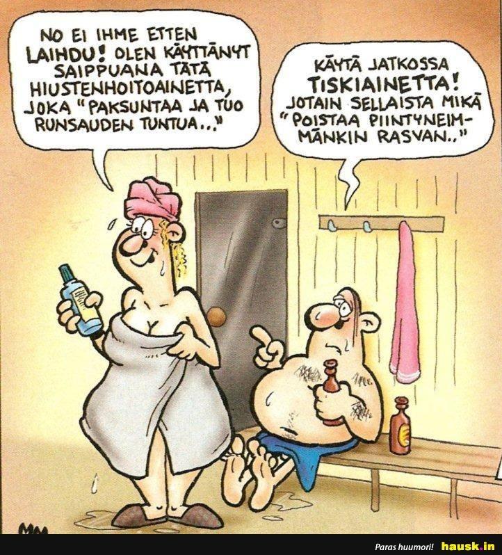 hauskat vitsit naisista Hameenlinna