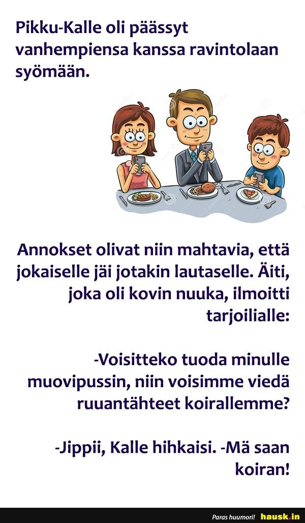 Pikku Kalle Vitsejä
